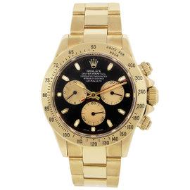 Rolex Daytona 116528 18K Yellow Gold 40mm Mens Watch