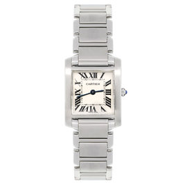 Cartier Tank Francaise 2384 Stainless Steel 20mm Womens Watch