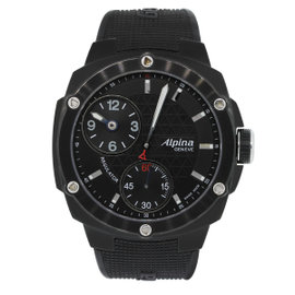 Alpina Avalanche Extreme AL650X5AE6 Black PVD Stainless Steel Black Dial 48mm Mens Watch