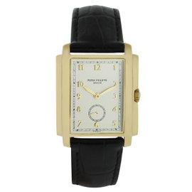 Patek Philippe Gondolo 5124J 18K Yellow Gold 30mm Mens Watch