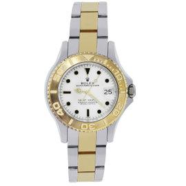 Rolex Yacht Master 68623 18K Yellow Gold / Stainless Steel 35mm Unisex Watch