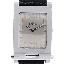 Corum Toboggan Stainless Steel Roman Dial Ladies Watch