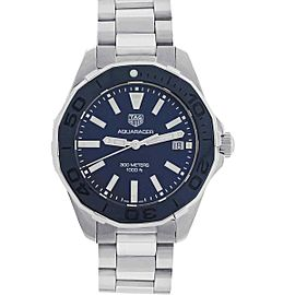 Tag Heuer WAY131S Aquaracer Blue Mother of Pearl Dial Ladies Watch