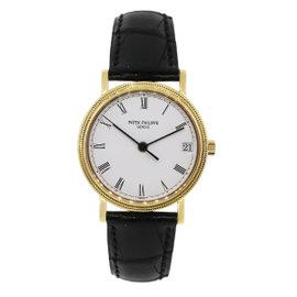 Patek Philippe Calatrava 3802/200J 18K Yellow Gold Automatic 33mm Unisex Watch