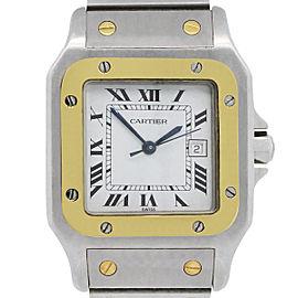 Cartier Santos Galbee 2961 Two Tone Automatic Watch
