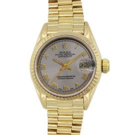 Rolex Datejust 69178 18K Yellow Gold Automatic 26mm Womens Watch