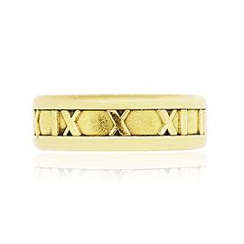Tiffany & Co. Atlas 18K Yellow Gold Ring Size 8.75
