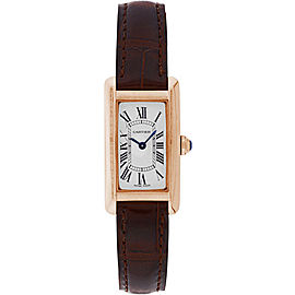 Cartier Tank Americaine W2607456 19mm Womens Watch