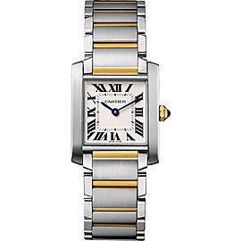 Cartier Tank Francaise W2TA0003 25.05mm Womens Watch