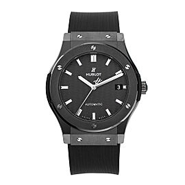 Hublot Classic Fusion 511.CM.1771.RX Ceramic with Black Dial Automatic 45mm Mens Watch