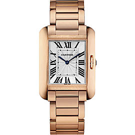 Cartier Tank Anglaise W5310041 34.7mm Womens Watch