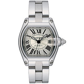 Cartier Roadster W62025V3 39mm Mens Watch