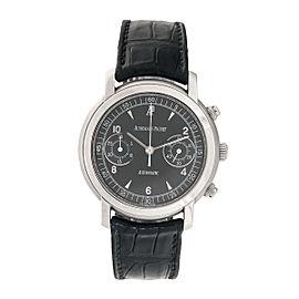 Audemars Piguet Jules 25859ST.OO.D001CR.02 Chrono Black Dial 39mm Mens Watch