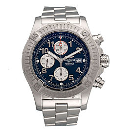 Breitling Super Avenger II Chronograph A1337111-C871-168A Stainless Steel 48mm Automatic Mens Watch