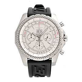 Breitling Bentley A44362 Stainless Steel Automatic Chronograph 48.7mm Mens Watch