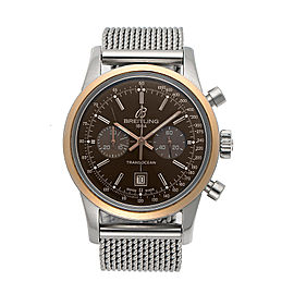 Breitling Transocean Chronograph U4131012/Q600-171A 38mm Mens Watch