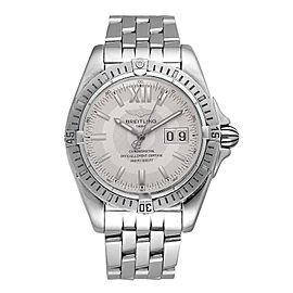Breitling Windrider Cockpit A49350 Stainless Steel 40mm Mens Watch