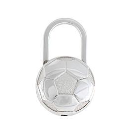 Tiffany & Co. Sterling Silver Soccer Ball Pad Lock Key Ring