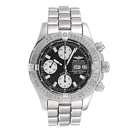 Breitling Superocean Chrono A13340 Black Dial Automatic Mens Watch