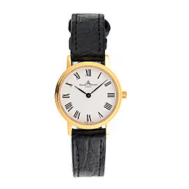 Baume & Mercier Classima 18K Yellow Gold Womens Watch