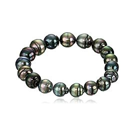 Tahitian Black Cultured Pearl Bracelet