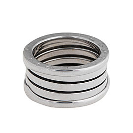 Bulgari B.Zero 1 18K White Gold Band Ring