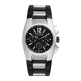 Bulgari Bvlgari EG 40 S CH Ergon Chronograph Automatic Stainless Steel Mens 40mm Watch