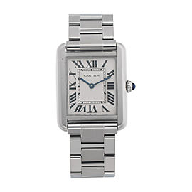 Cartier Tank Solo W5200013/3170 24.4mm Womens Watch