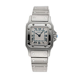 Cartier Santos 1565 26mm Womens Watch