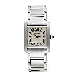 Cartier Tank Francaise 2301 25mm Womens Watch