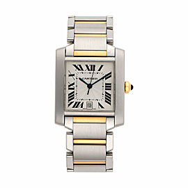 Cartier Tank Francaise 2302 28mm Womens Watch