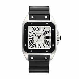 Cartier Santos 100 XL 2656 38mm Mens Watch