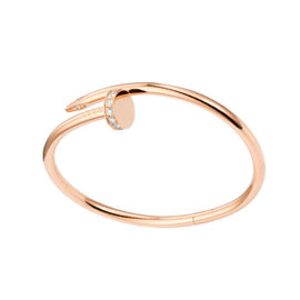 Cartier Juste Un Clou B6039017 Bracelet RG DIA Size 20
