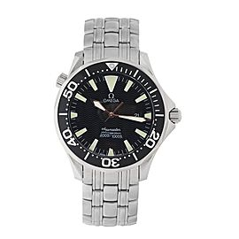 Omega Seamaster Professional 300M 2064.50 Quartz Black Dial Mens 41mm Watch