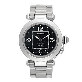 Cartier Pasha 2475 Stainless Steel Automatic 35mm Unisex Watch