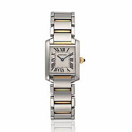 Cartier Tank Francaise W51007Q4 25mm Womens Watch