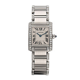 Cartier Tank Francaise 2384 21mm Womens Watch