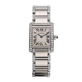 Cartier Tank Francaise 2384 21mm Womens Watch