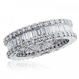18K White Gold & Diamond Eternity Wedding Band