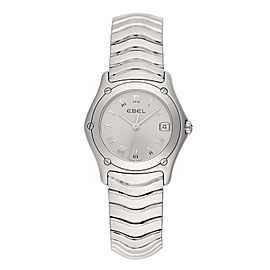 Ebel Classic Wave 9087f21/9225 Quartz 27mm Womens Watch