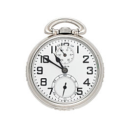 Elgin Railroad Vintage 50mm Mens Pocket Watch