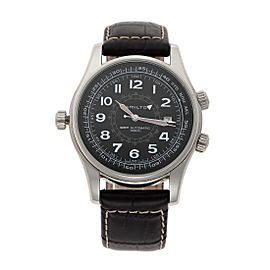 Hamilton Khaki Navi UTC H77505535 42mm Mens Watch