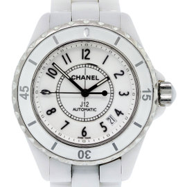 Chanel J12 85129 Ceramic White Dial Automatic 38mm Womens Watch