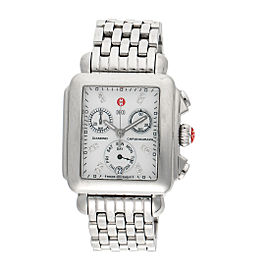 Michele MW06P00A0046 Stainless Steel with Diamond Quartz 32.5mm Womens Watch