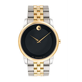 Movado Museum 07.1.20.1198 Two Tone 40mm Classic Mens Watch