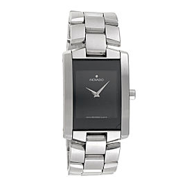 Movado Eliro 84.C1.455.A Stainless Steel Black Dial Quartz 25mm Womens Watch