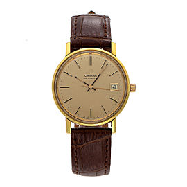 Omega Dress Vintage 34.5mm Mens Watch
