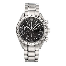 Omega Speed Master 3210 Stainless Steel Automatic 38mm Mens Watch