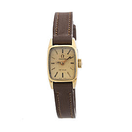 Omega Vintage Deville Gold Plated Ladies Watch