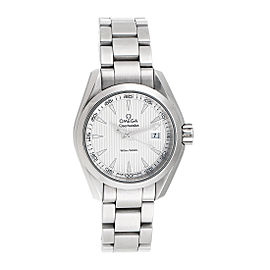 Omega Seamaster Aqua Terra 23110306002001 Stainless Steel Womens Watch